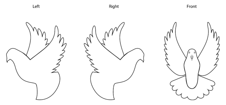 paint the dove template