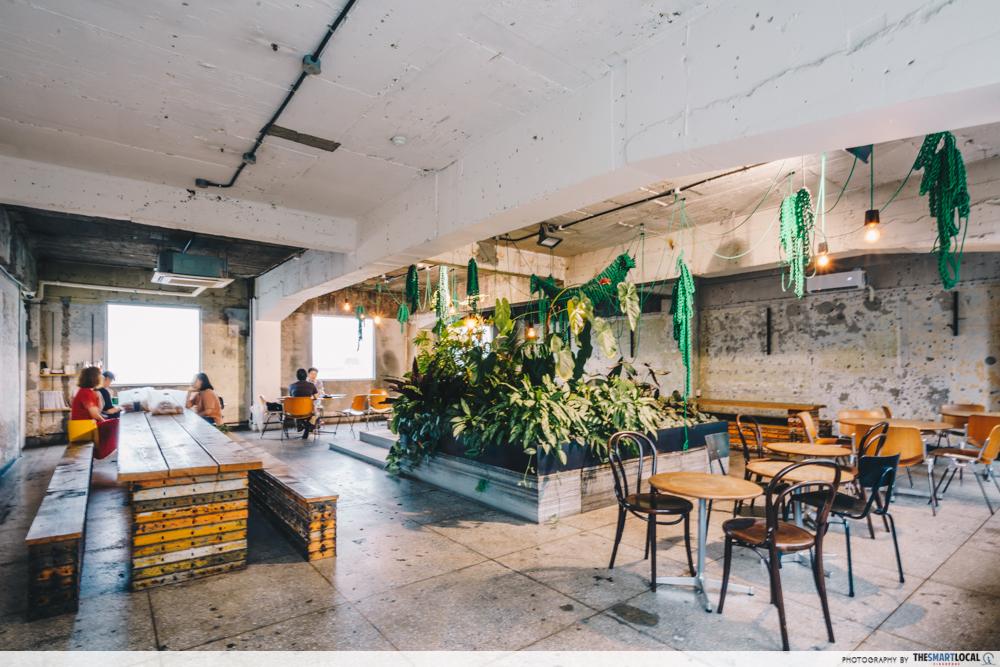 anthracite cafe seoul interior