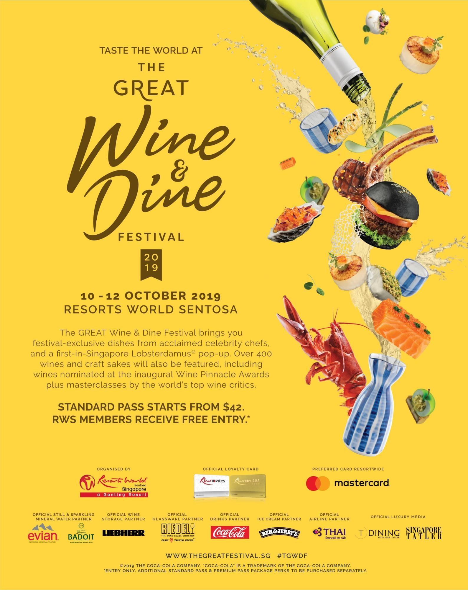 rws the great wine & dine festival 2019