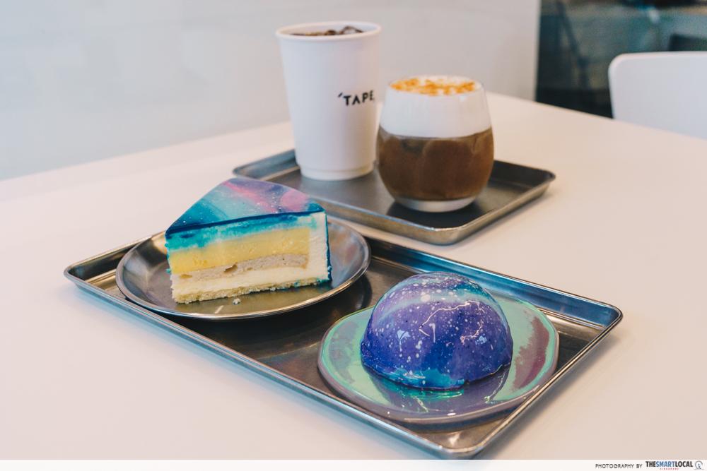 cafe tape menu