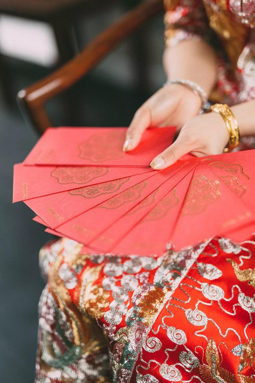 wedding ang pao red packet