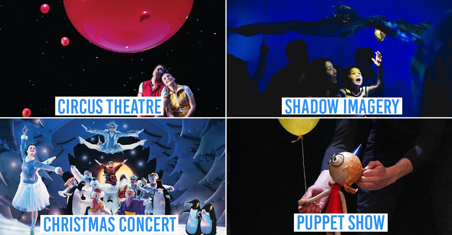 Kids theatre shows Singapore 2019