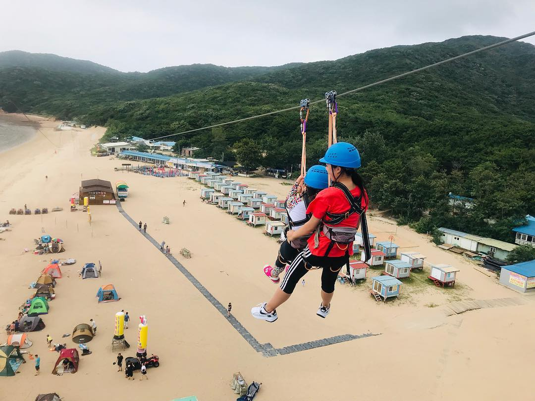 8 Korean Islands Near Seoul For Day Trips From Just 1h Away That Aren't Jeju or Nami muuido zipline