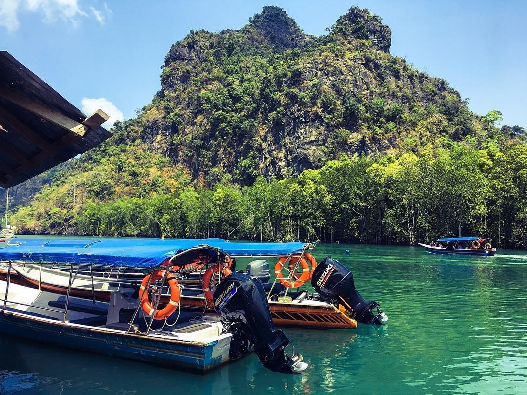 langkawi geopark boat