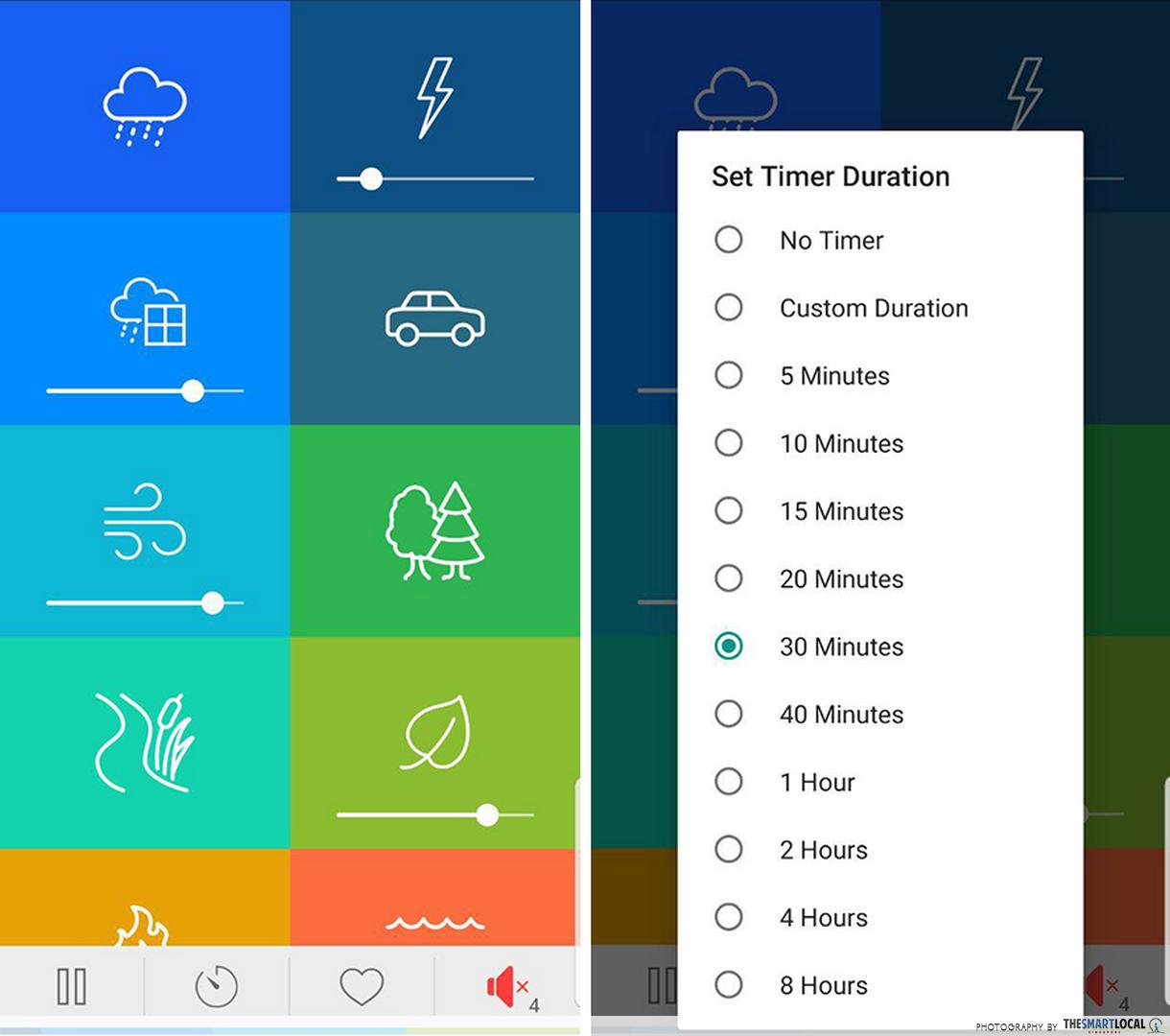 free productivity apps - white noise generator