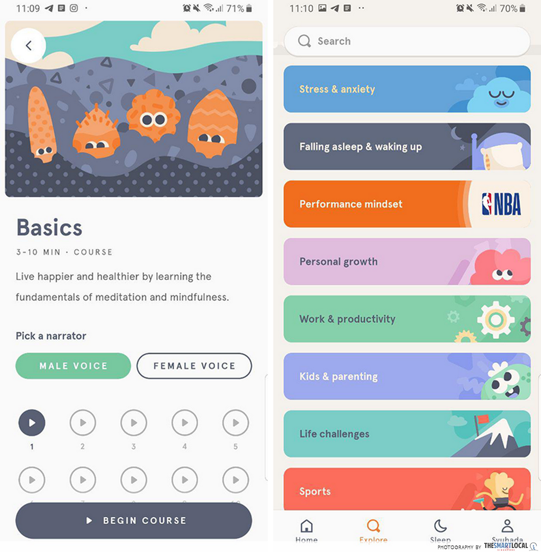 free productivity apps - headspace
