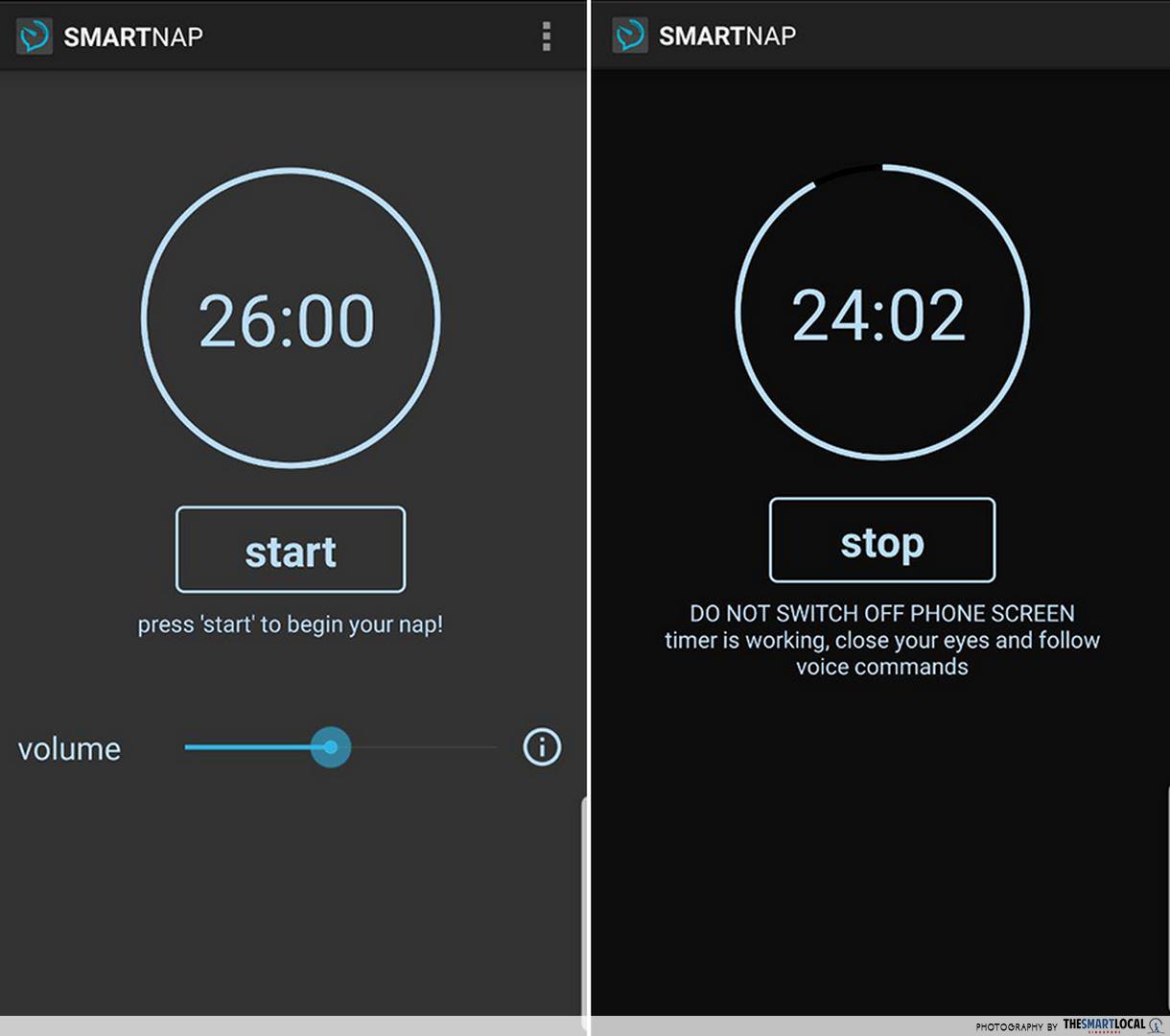 free productivity apps - smart power nap