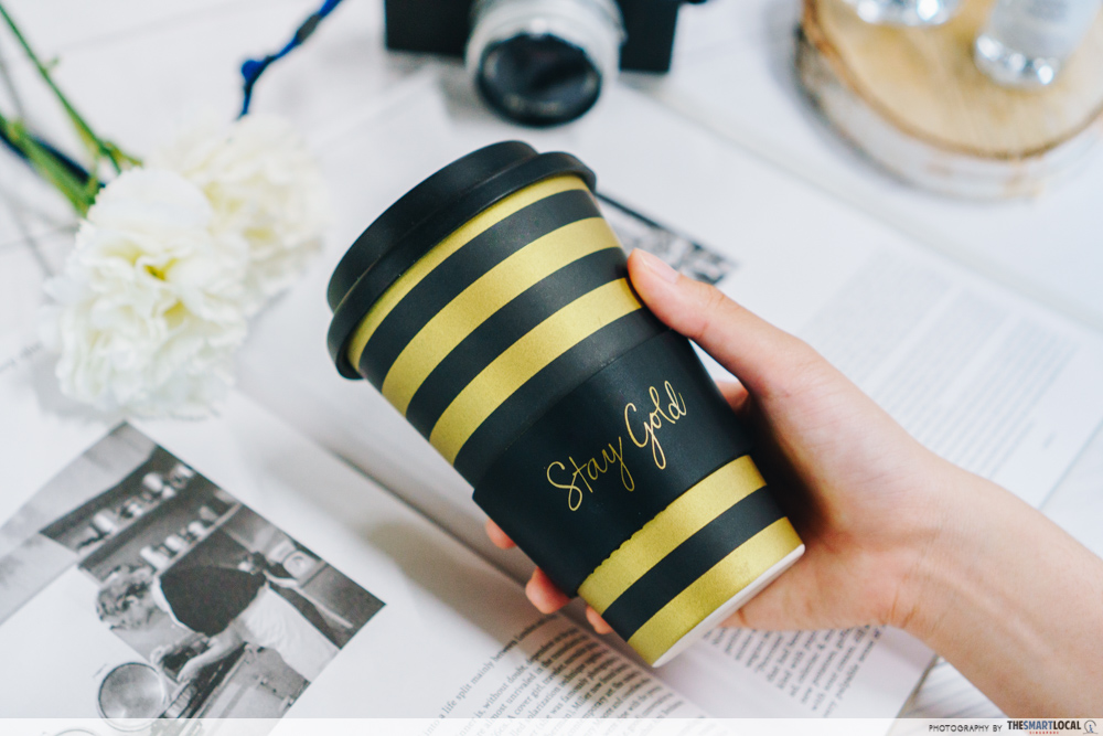 Sephora Beauty Pass Sale - Stay Gold Coffee Mug from Sephora