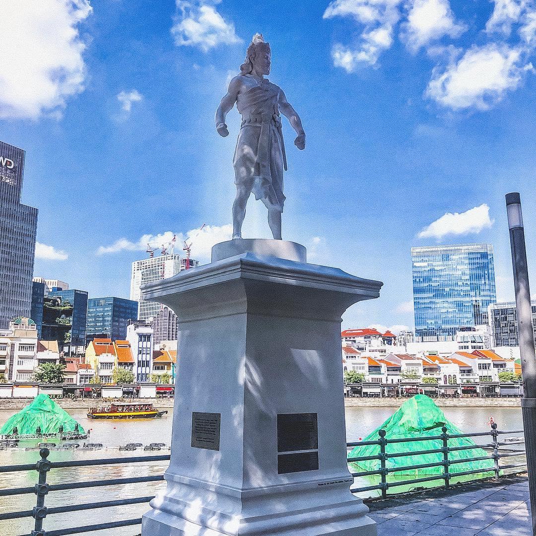 singapore legend - sang nila utama