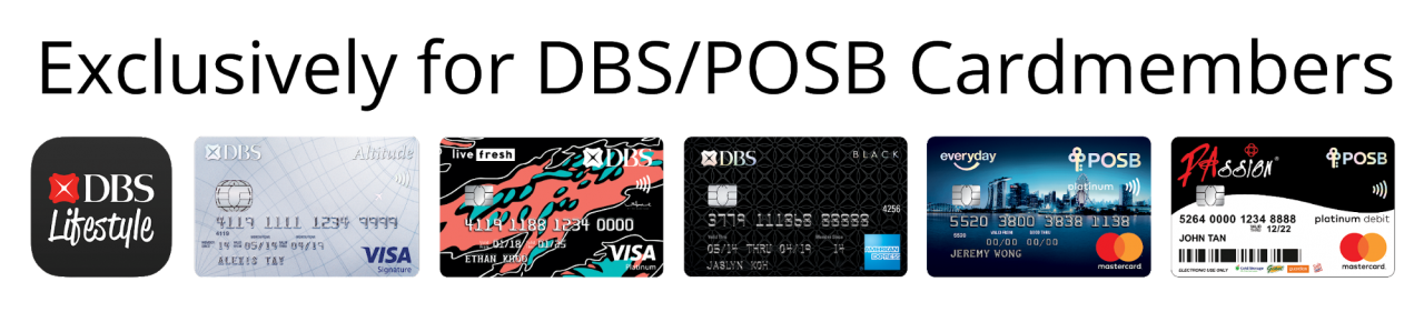 Singtel Is Giving Away 12GB Data And Mobile Phone Discounts For New Users dbs posb card