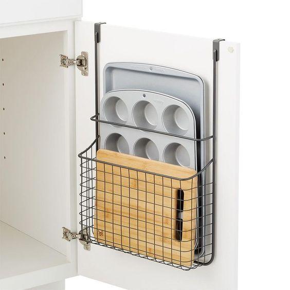 Smart Storage over-the-door basket