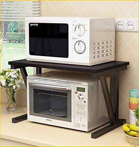 Smart Storage Microwave Oven Shelf