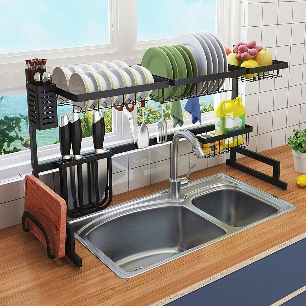 Smart Storage shelf above sink