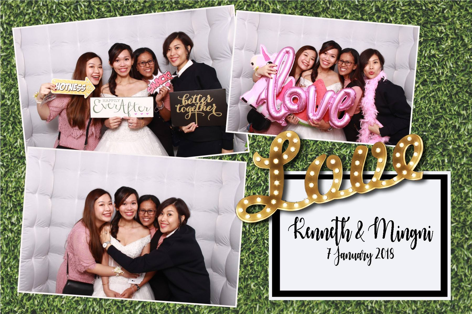 wedding photobooth - funpics sg