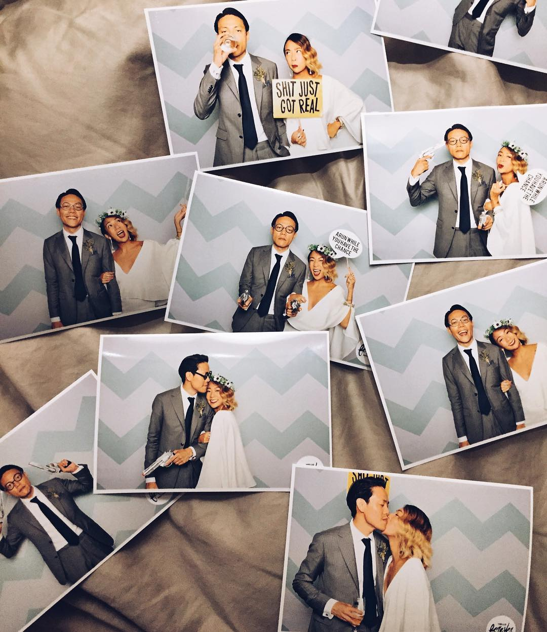 wedding photobooth - hello forever