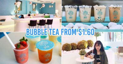 bubble tea cafe in jb - cover image featuring 少1点 shao yi dian