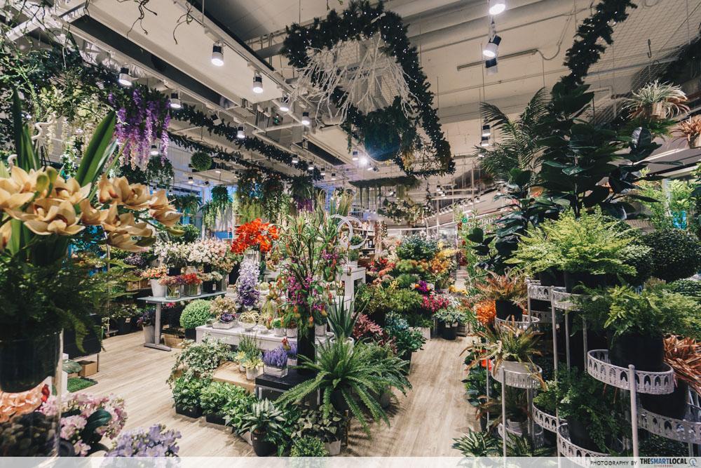 floral shops in kinex
