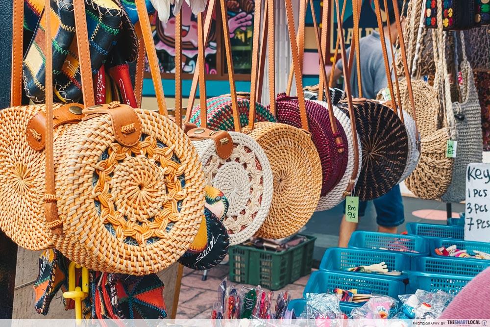 Gaya Street Market - bali bags