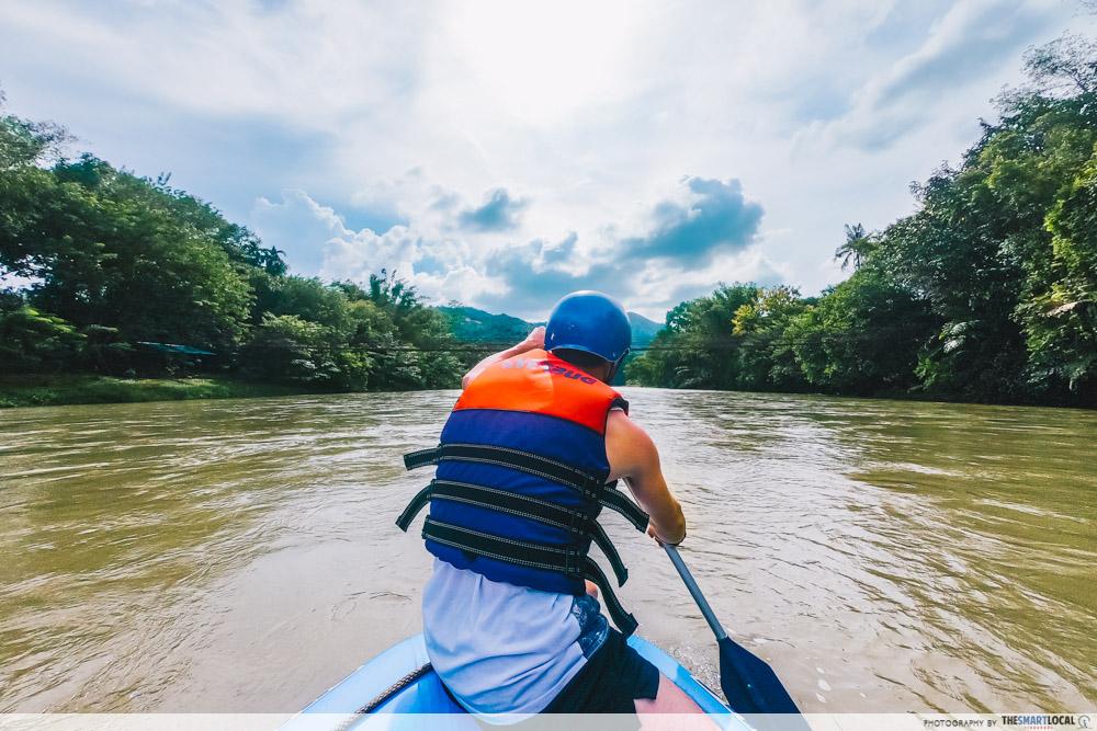 AirAsia - white water rafting
