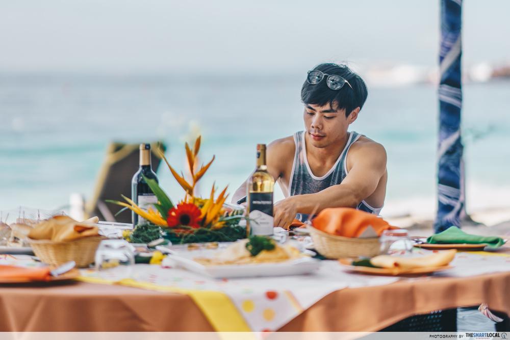 AirAsia - Manukan Island picnic