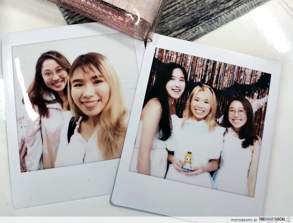 Artbox 2019 Singapore Kranji Polaroids