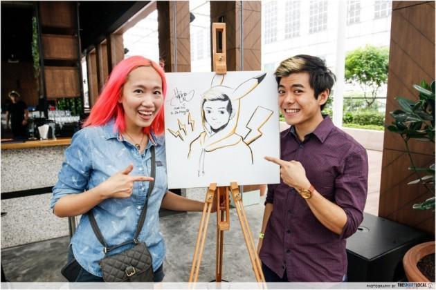 Artbox 2019 Singapore Kranji Caricature