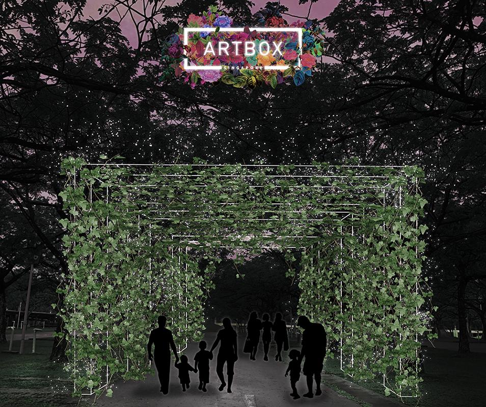 Artbox 2019 Singapore Kranji Vine Arch