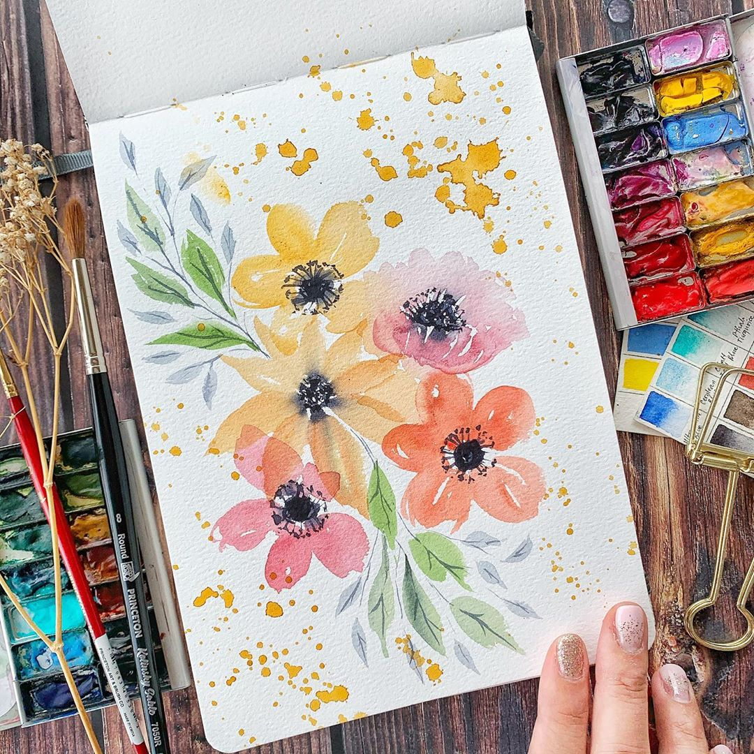 Artbox 2019 Singapore Kranji Watercolour Workshop