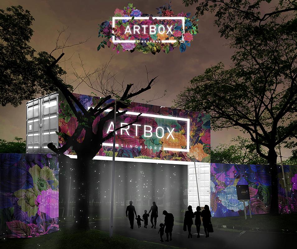 Artbox 2019 Singapore Kranji Container