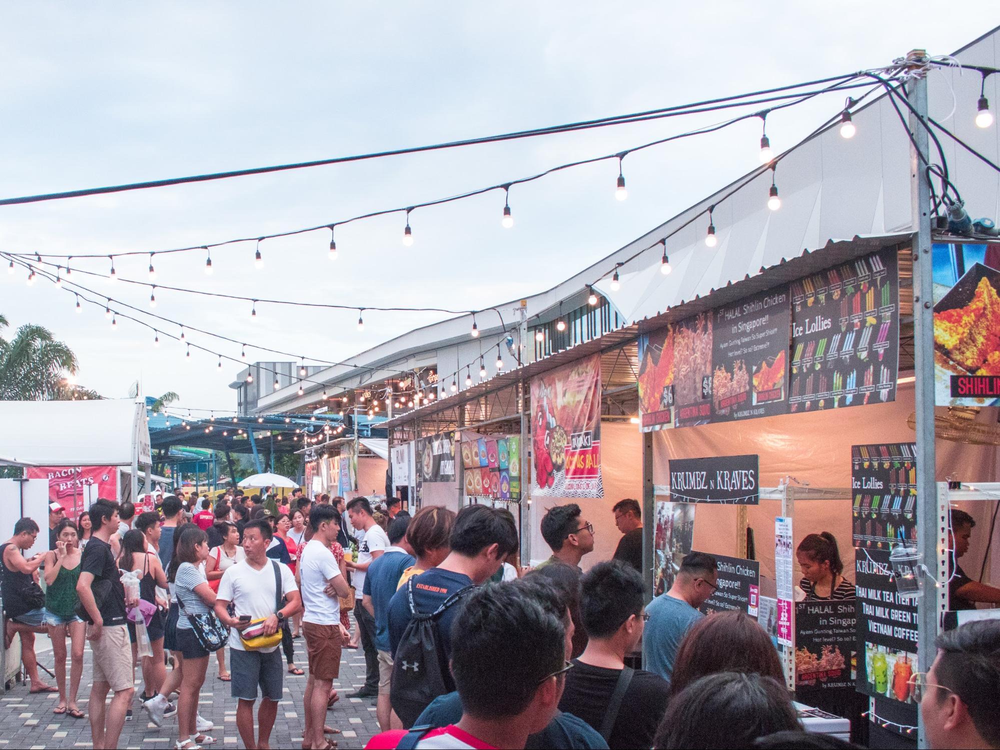 Artbox Singapore Food Stalls