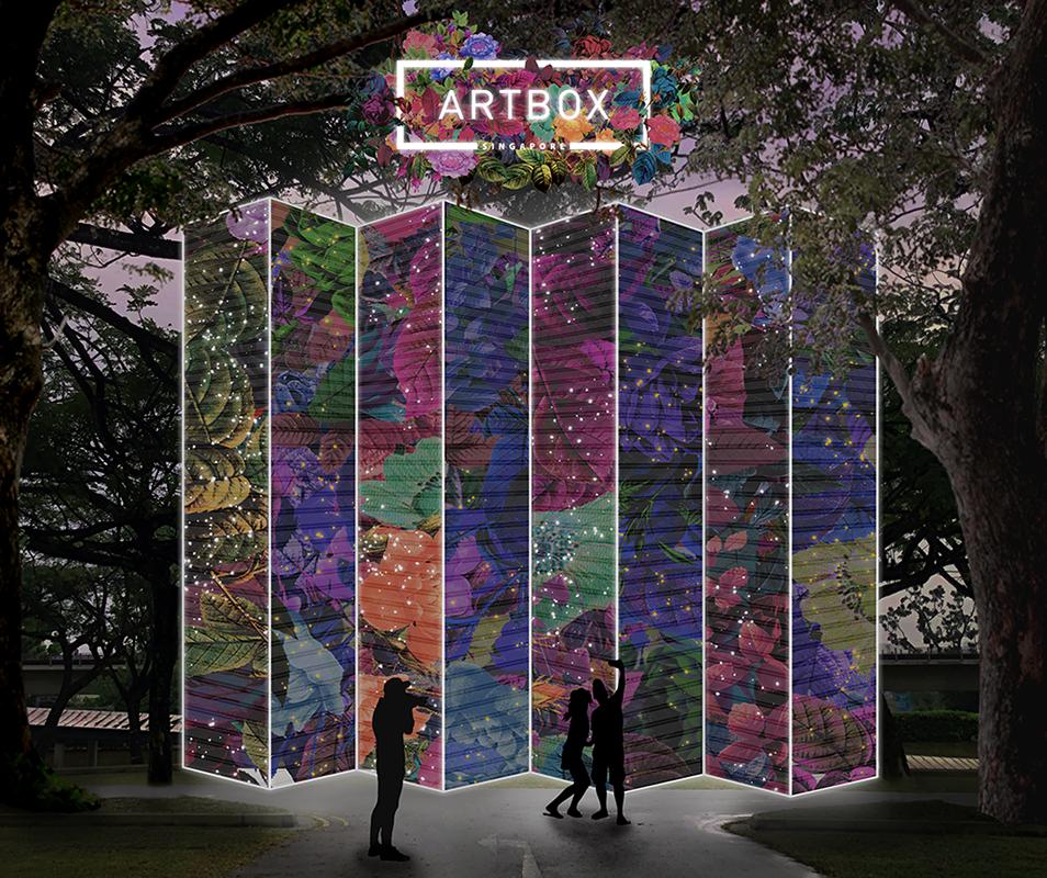 Artbox 2019 Singapore Kranji Garden Theme