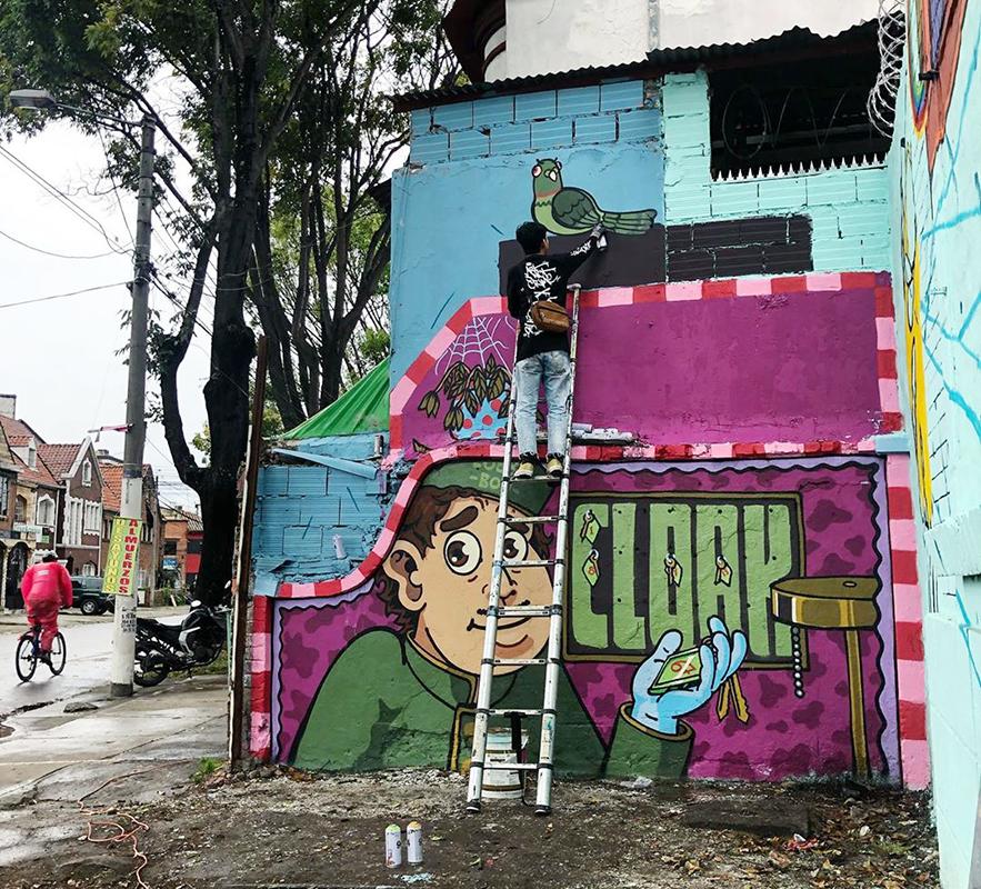 Artbox 2019 Singapore Kranji Cloakwork Street Art Graffiti