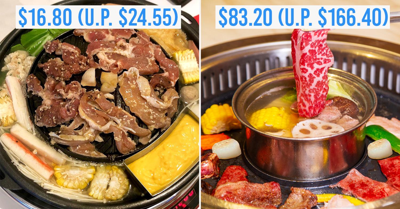 Chope BBQ Buffet Deals 2019 Mookata Japanese
