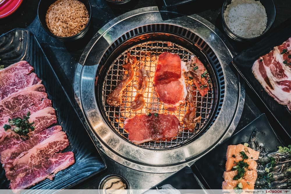 ROCKU Yakiniku Chope BBQ Buffet