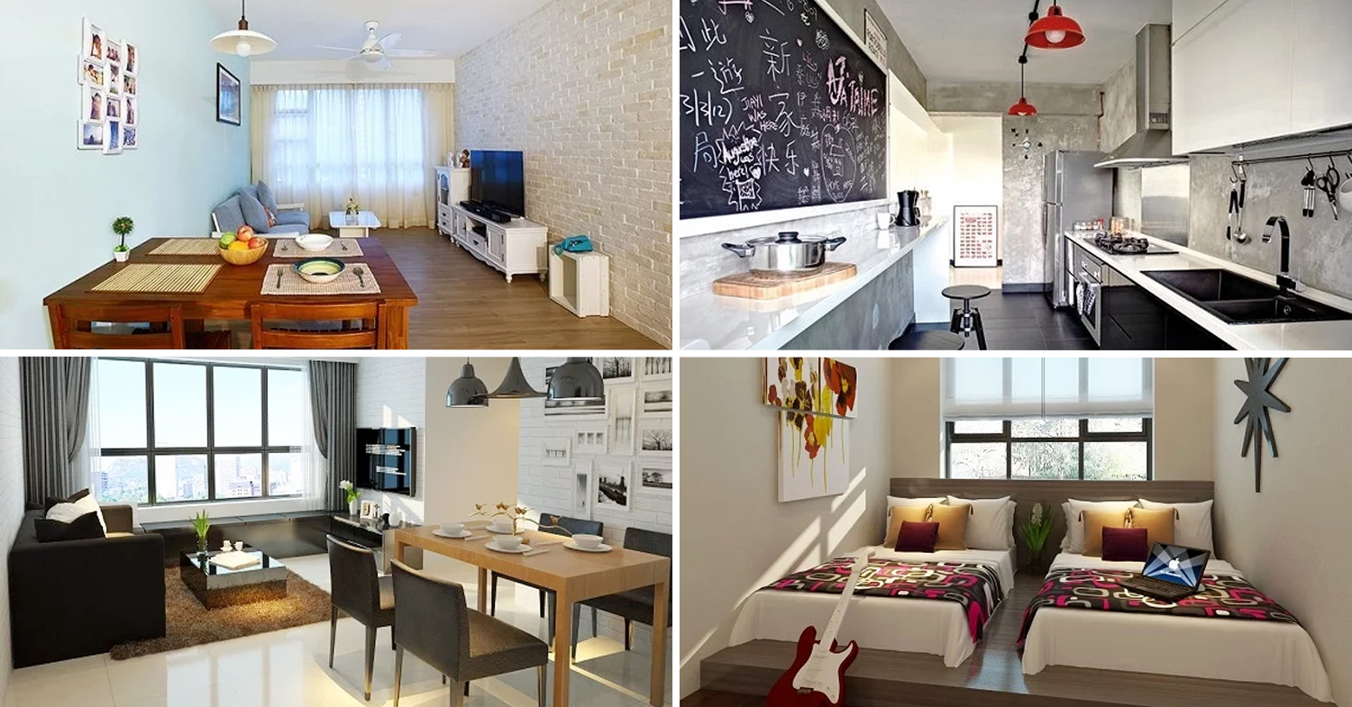 9 Stunning Hdb Renovations Under 25000 With Major