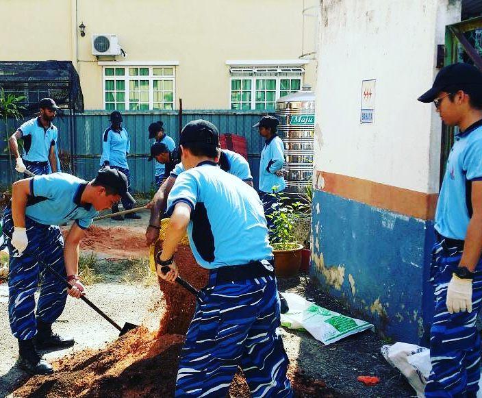 Malaysian NS community service