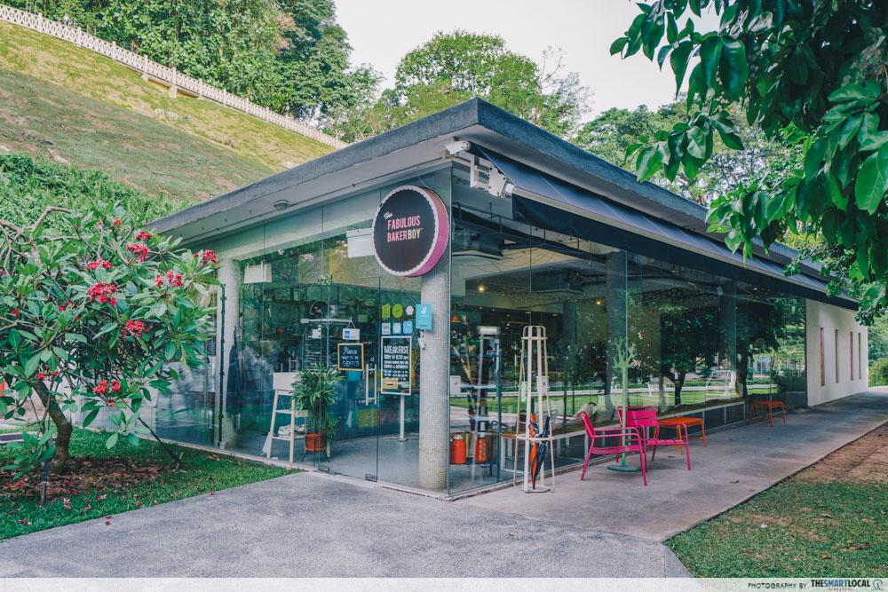 Fabulous Baker Boy Cafe Singapore Fort Canning