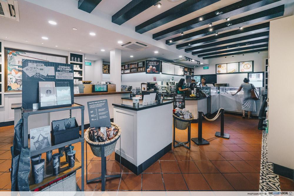 Starbucks Cafe Singapore Coffee