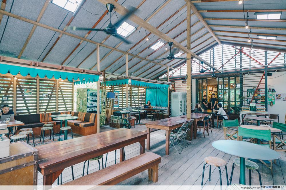 Tiong Bahru Bakery Safari Tent Cafe Singapore