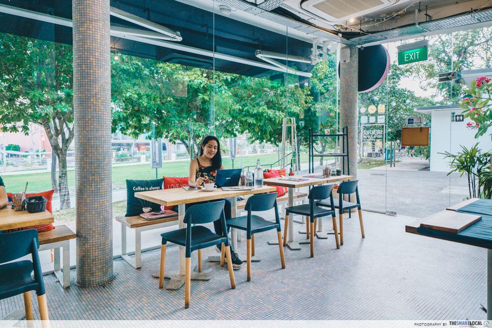 Fabulous Baker Boy Cafe Fort Canning Singapore