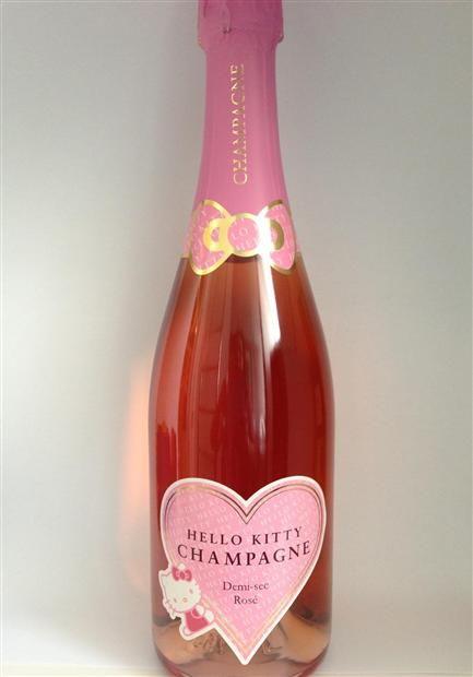 $12 Hello Kitty champagne