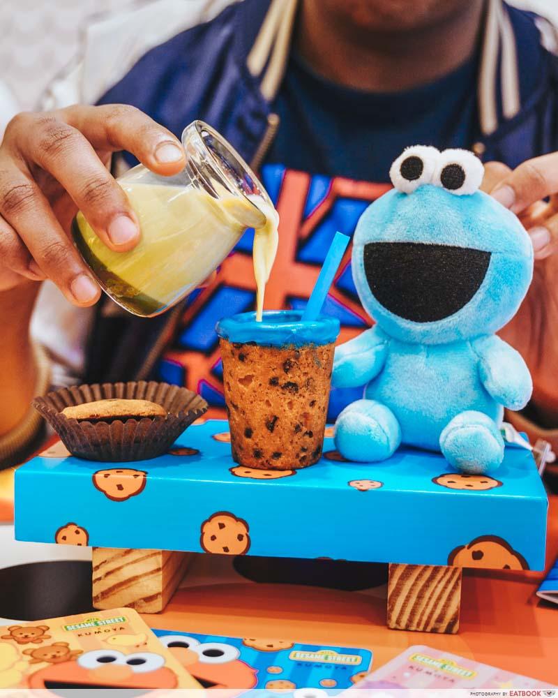 Sesame Street Cafe - themed pop-up at Kumoya