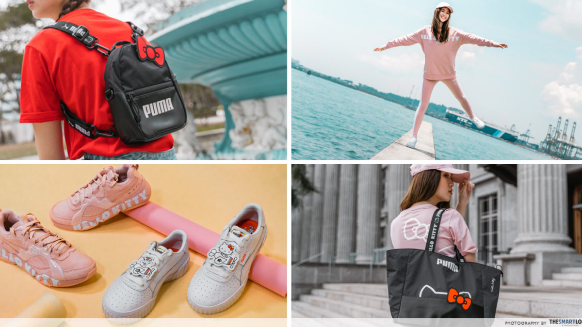 PUMA x Hello Kitty's New Collection Is