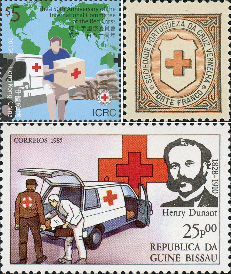 Singapore Red Cross Themed Postage Stamps