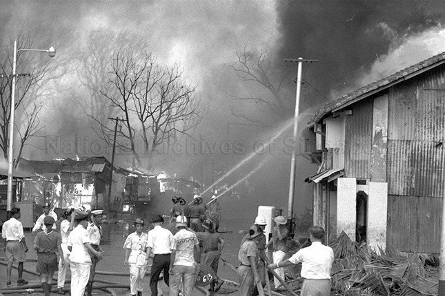 Bukit Ho Swee Fire Singapore Disaster 1961