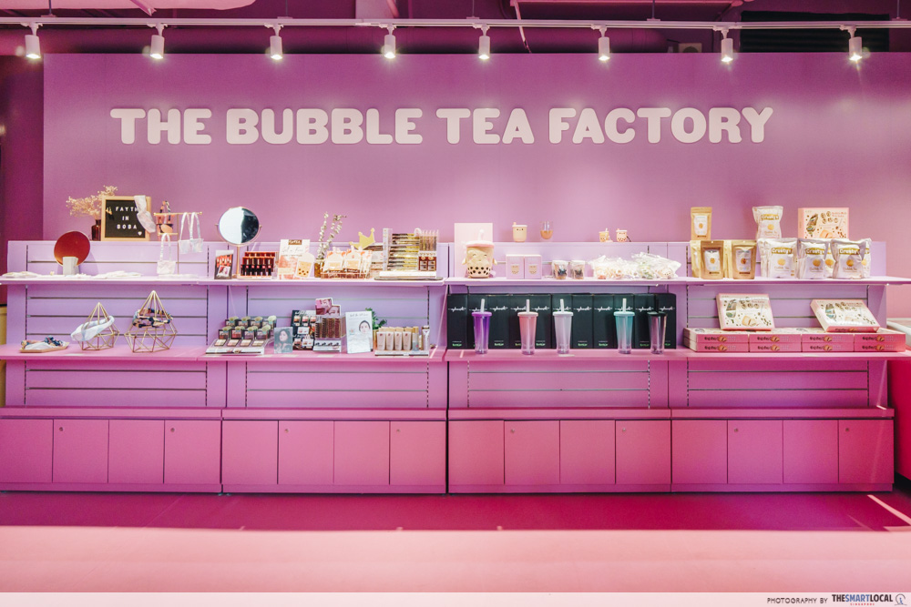 The Bubble Tea Factory Singapore Boba Merch