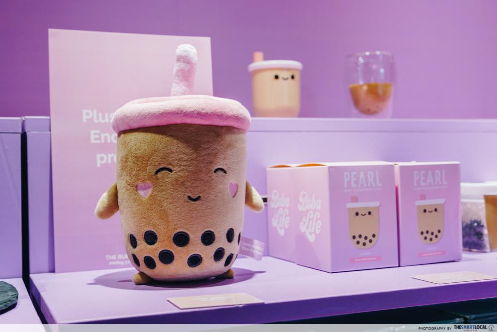 The Bubble Tea Factory Singapore Boba Bae Plushie