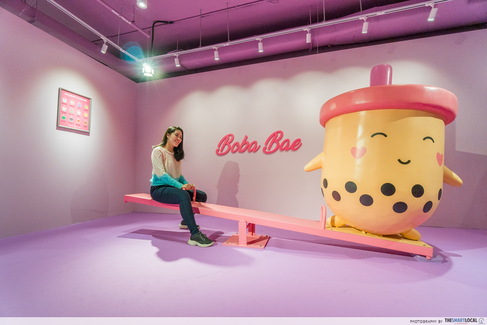 The Bubble Tea Factory Singapore Boba See-Saw