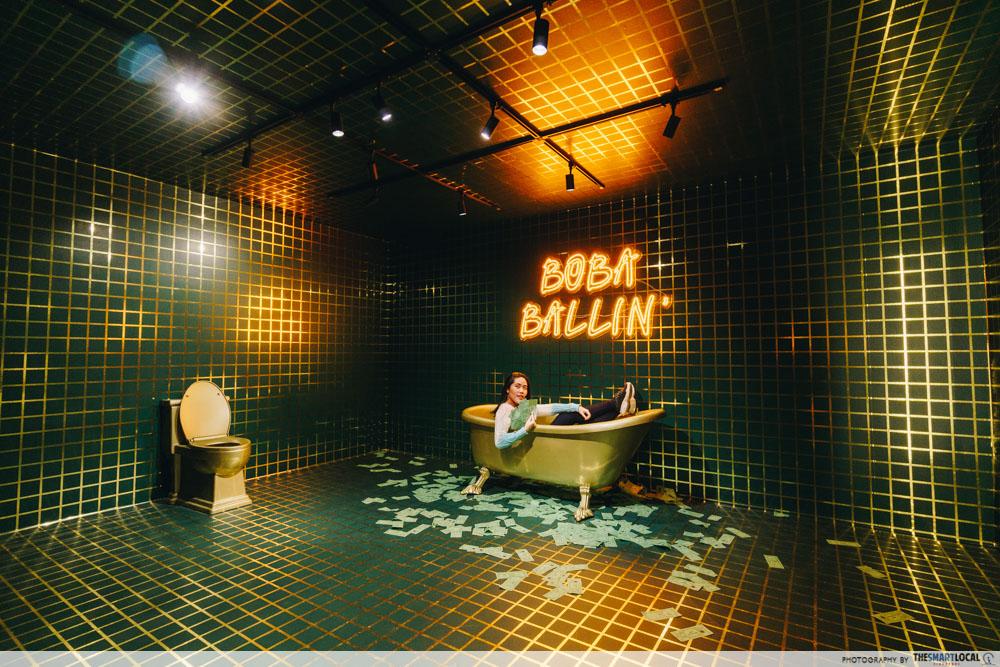 The Bubble Tea Factory Singapore Boba Ballin'