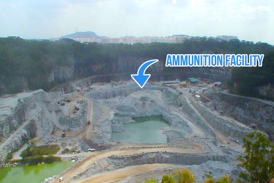 The world's largest Underground Ammunition Facility